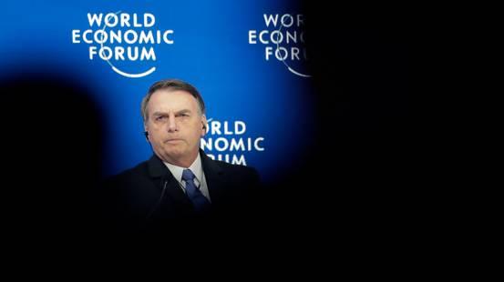 WEF, il giorno di Bolsonaro