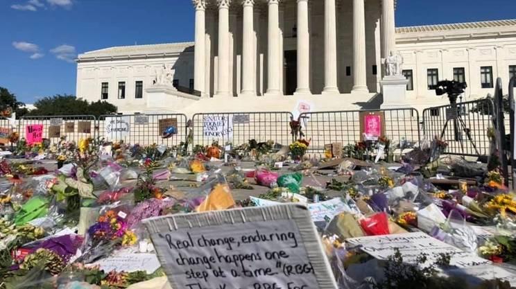 L'omaggio alla Corte Suprema alla giudice scomparsa