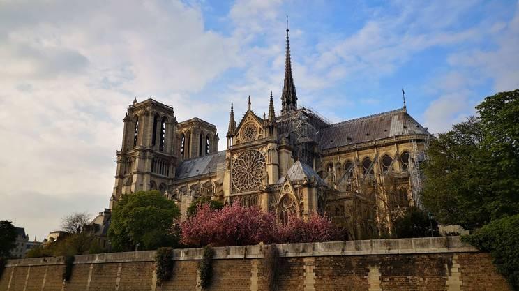 La cattedrale in un'immagine scattata proprio ieri, domenica