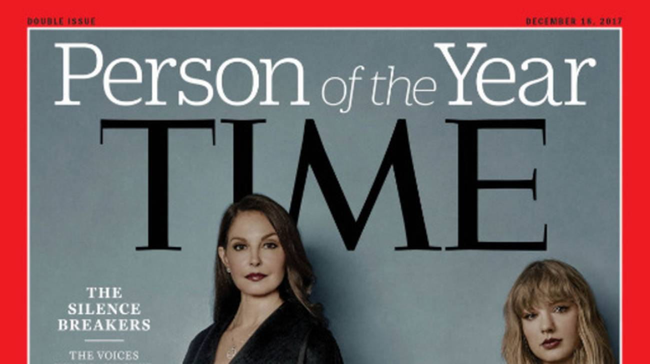 La copertina del time 2017