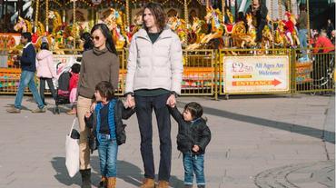 La famiglia che viaggia gratis