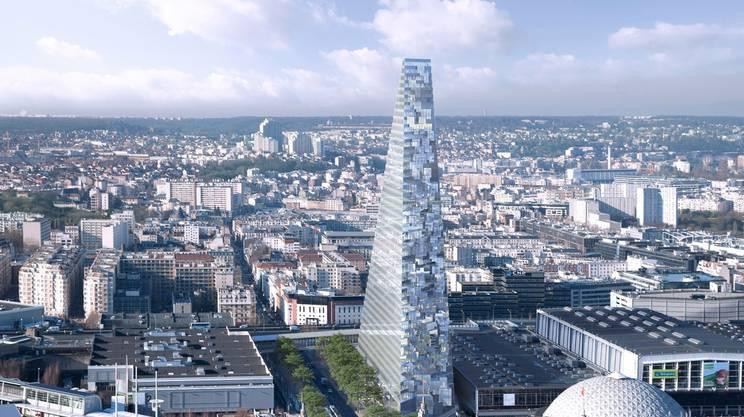 La nuova torre sarà parte del panorama della Ville lumière