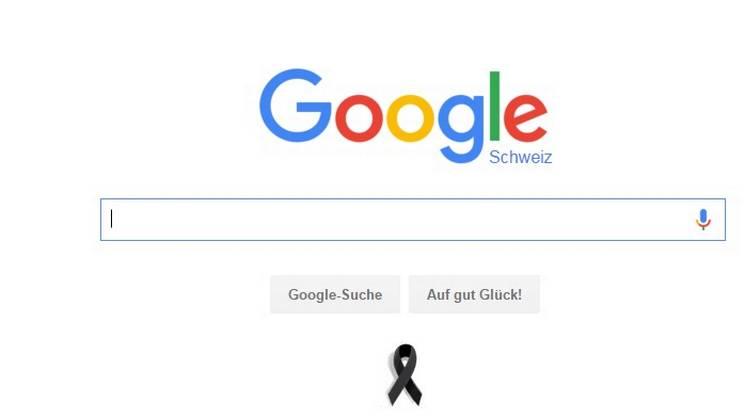 La pagina di google