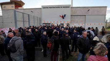 Prigioni bloccate in Francia
