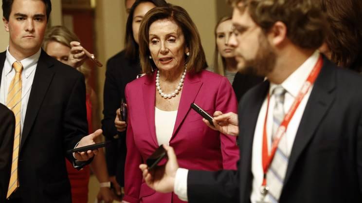 La speaker della Camera Nancy Pelosi