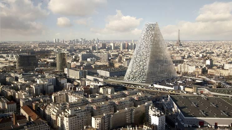 La torre sorgerà a sud della capitale francese