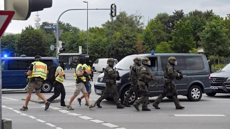 L'arrivo delle forze speciali