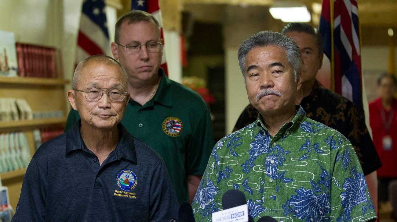 Le autorità hawaiane hanno dovuto scusarsi per aver scatenato un inutile panico tra gli isolani
