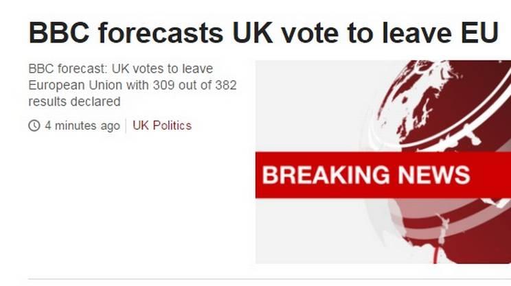 Le previsioni della BBC
