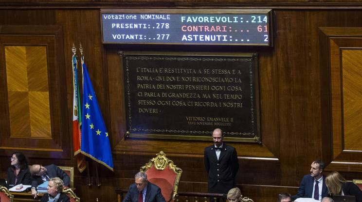 Il rosatellum bis legge rsi radiotelevisione svizzera for Il senato italiano