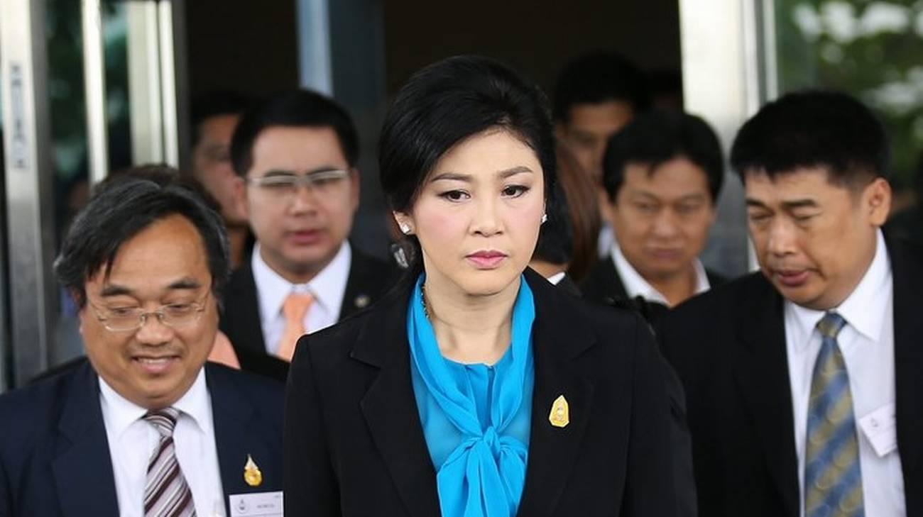 L'ex premier Yingluck Shinawatra destituita nel maggio 2014