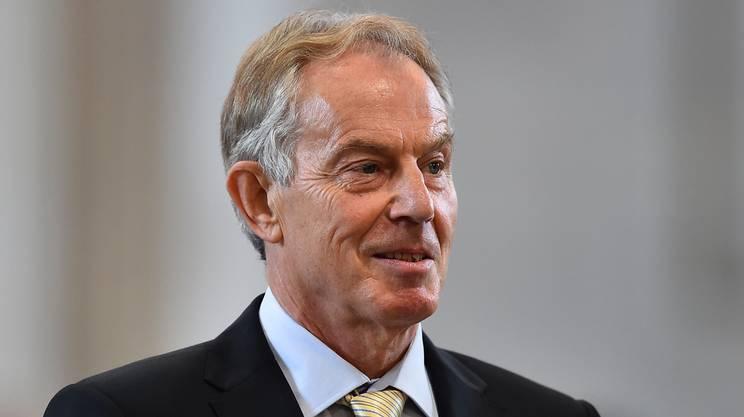 L'ex premier britannico Tony Blair commentando il risultato: