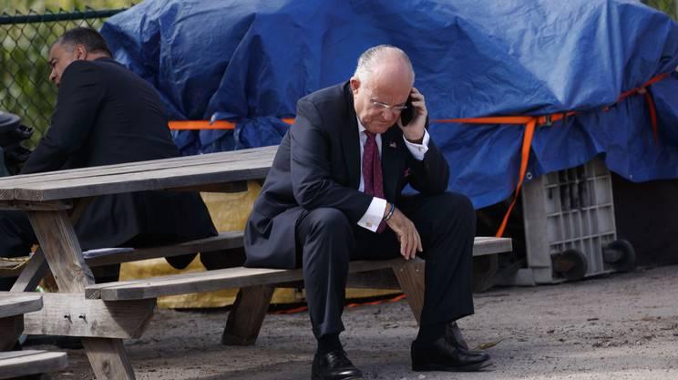 L'ex sindaco di New York Rudi Giuliani