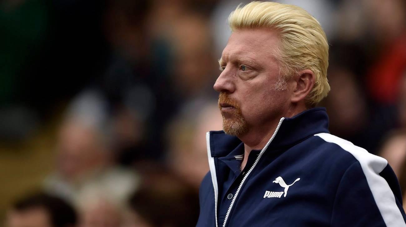 L'ex tennista germanico Boris Becker