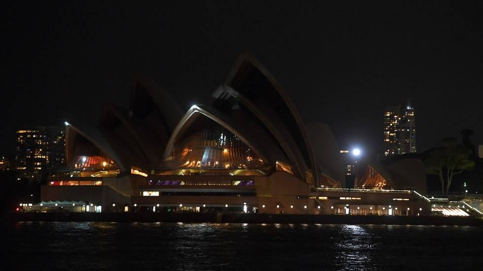 Luci spente a Sydney