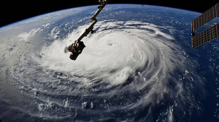 L'uragano immortalato da un satellite della NASA