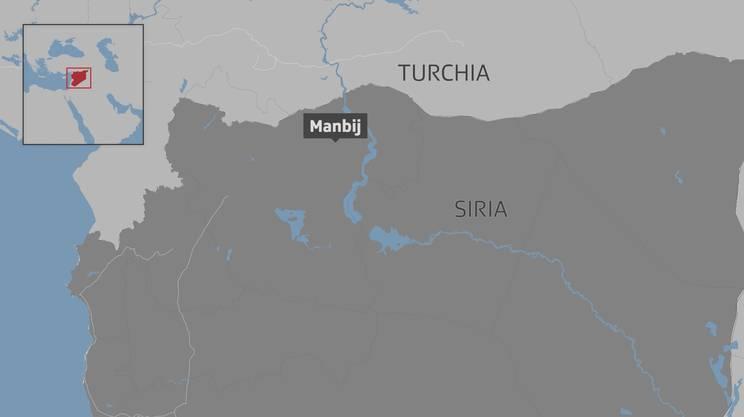 Manbij è un'area strategica, allo snodo tra l'autostrada M4 e le strade che vanno a nord