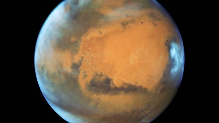 Marte, quarto pianeta del sistema solare in ordine di distanza dal Sole