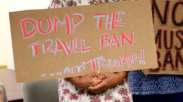 Bloccato nuovo bando di Trump