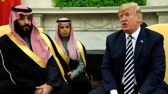 Trump difende il principe