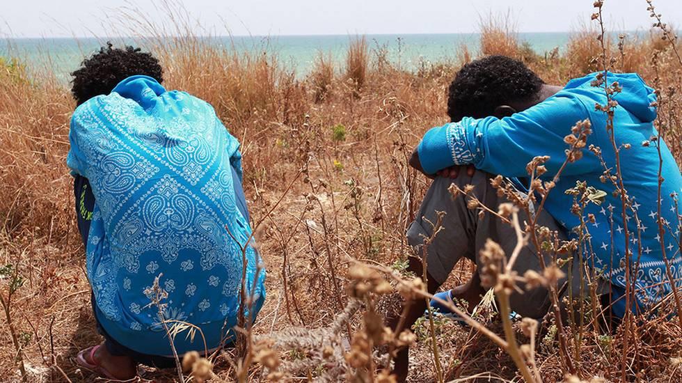 Moltissimi eritrei scelgono di fuggire attraversando il Mediterraneo