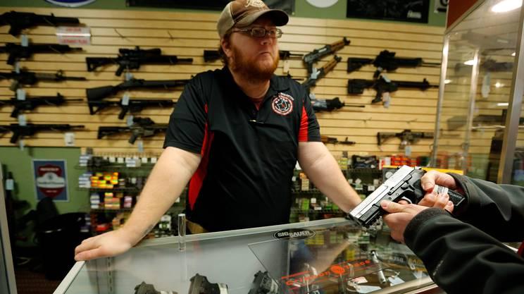 Negozio di armi nel Missouri