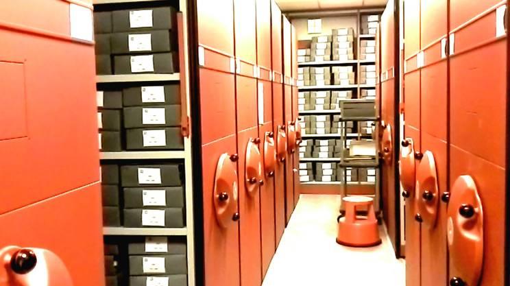 Nei sotterranei di Villa Salviati sono custoditi oltre 6 chilometri di documenti