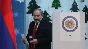 Armenia, Pashinyan vincitore