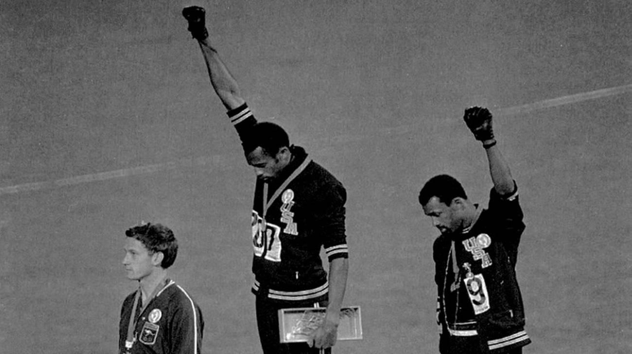 Olimpiadi 1968 in Messico, uno dei tanti simboli della protesta