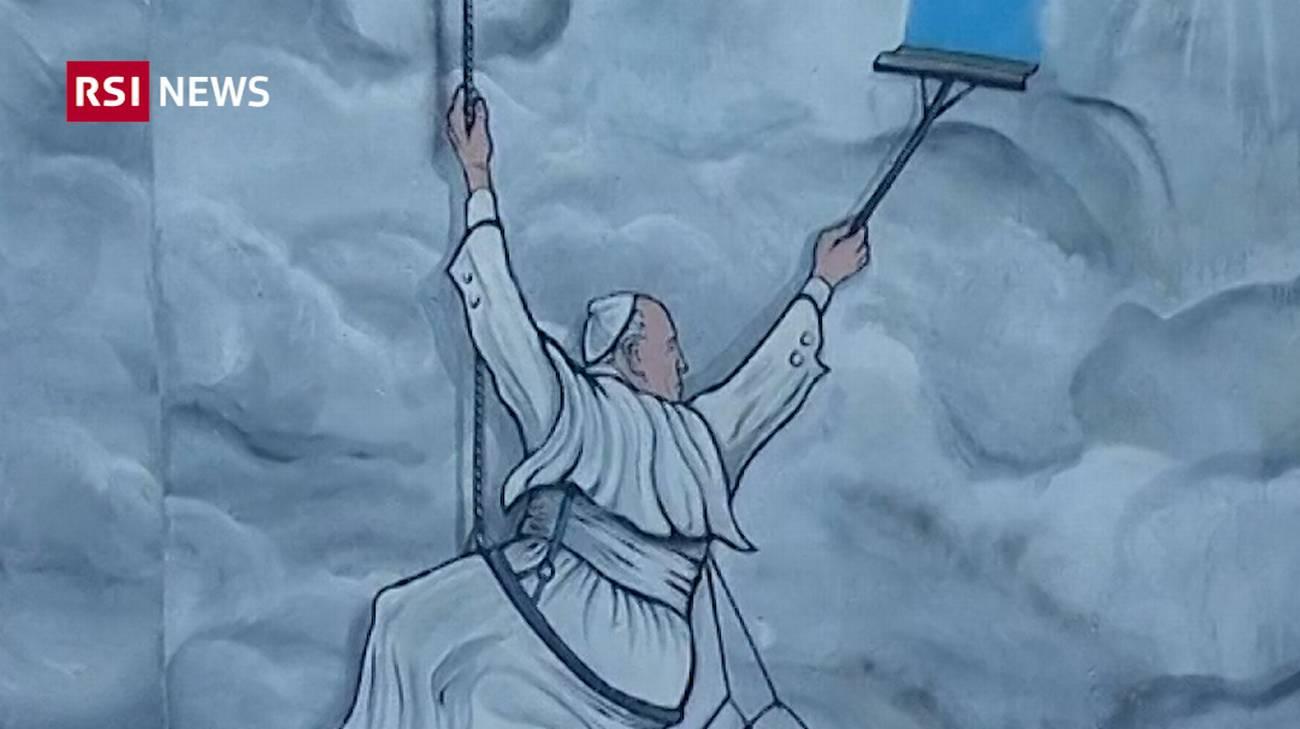 Costo Di Un Murales.Un Murale Per Papa Francesco Rsi Radiotelevisione Svizzera