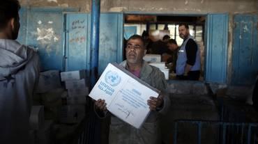 Meno aiuti ai palestinesi