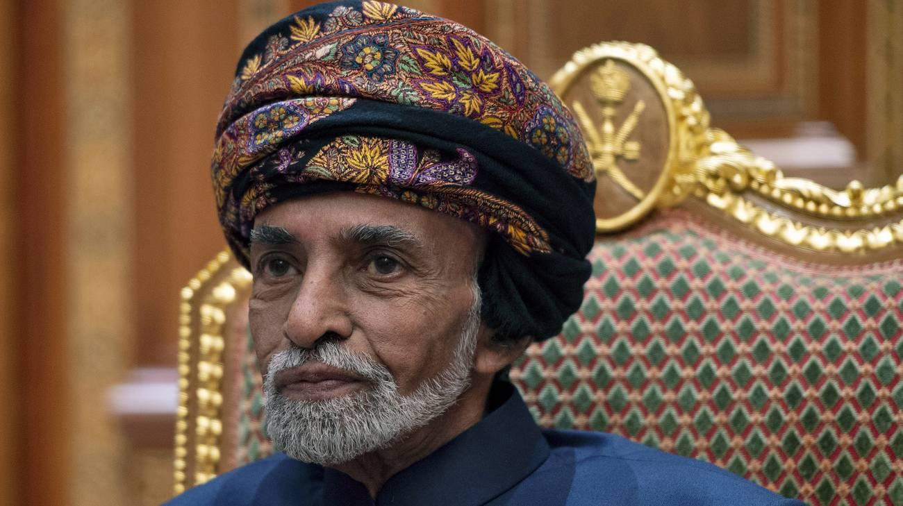 Risultati immagini per Il sultano Qaboos