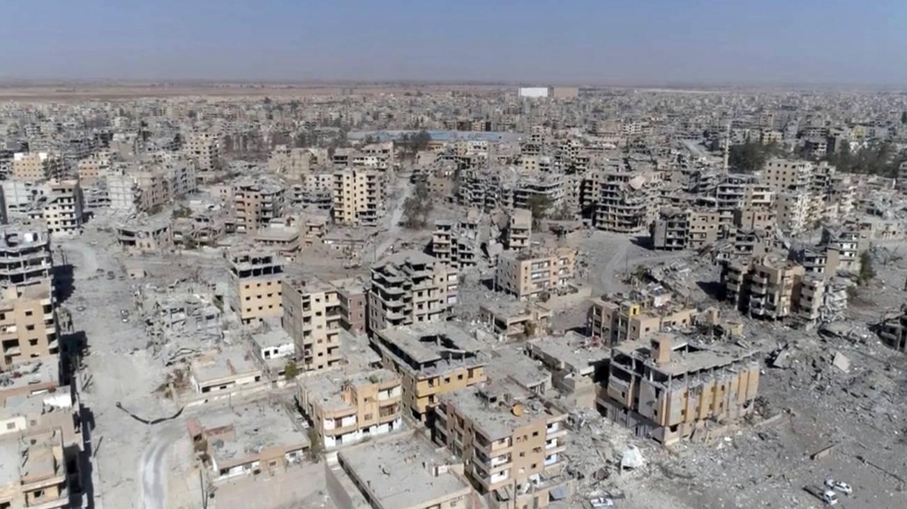 Quel che resta di Raqqa