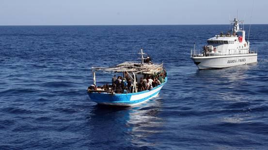 Migranti in calo in Italia