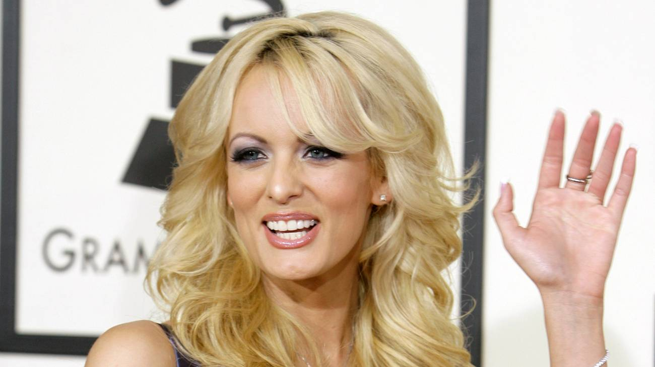 Stormy Daniels ai 50esimi Grammy Awards a Los Angeles