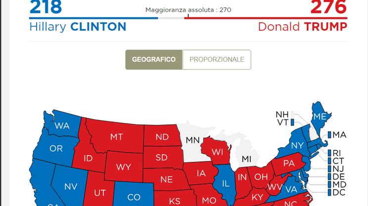 Sulla nostra mappa interattiva il momento della vittoria