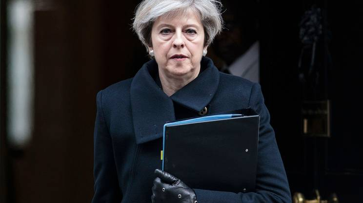 "May, ""attentatore britannico"""