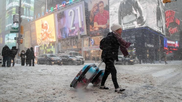 New York nella morsa del gelo