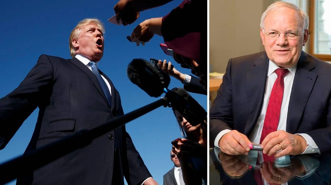 Trump e Schneider-Ammann