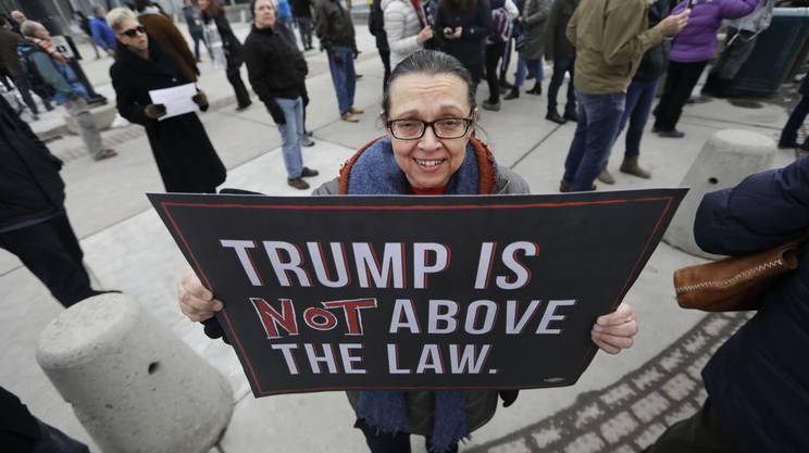 Trump non è al di sopra della legge
