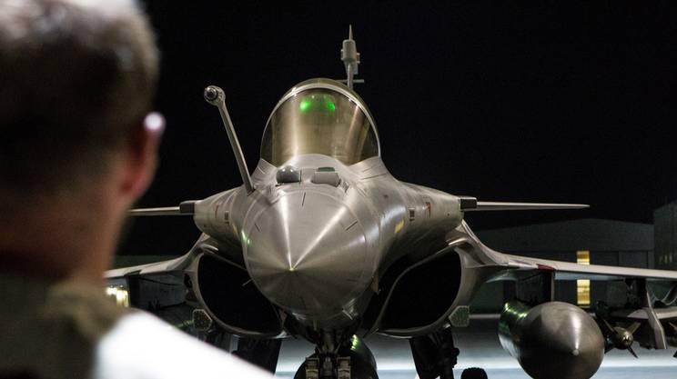 Un caccia francese Dassault Rafale
