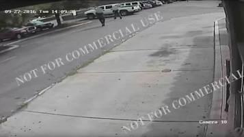 Un fermo immagine della videosorveglianza del ristorante messicano