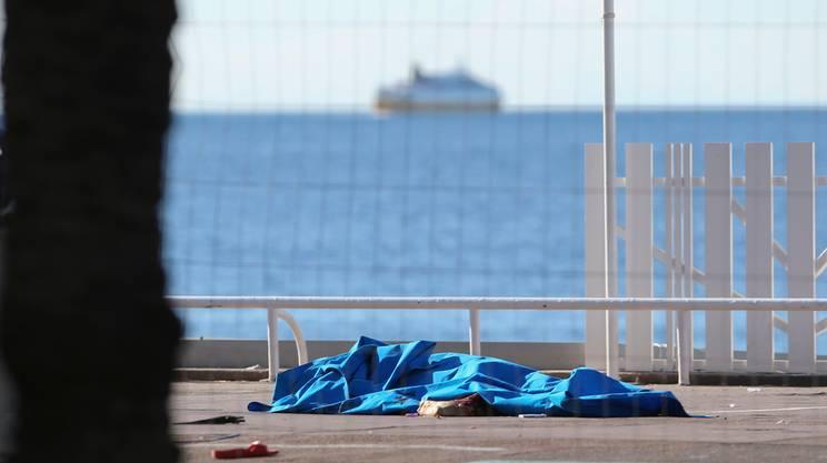 Una delle vittime dell'attentato di Nizza