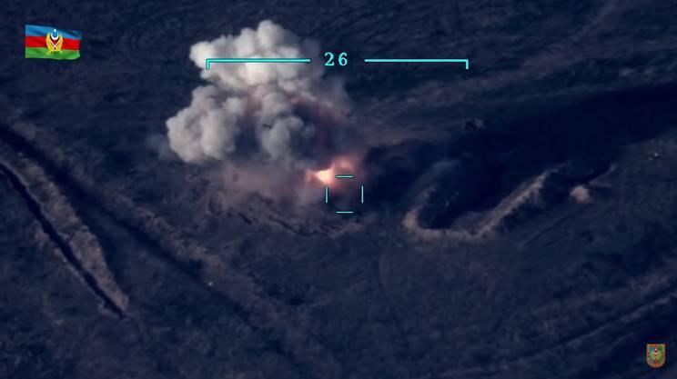 Caucaso, secondo giorno di guerra sul campo in Nagorno-Karabakh. Il video