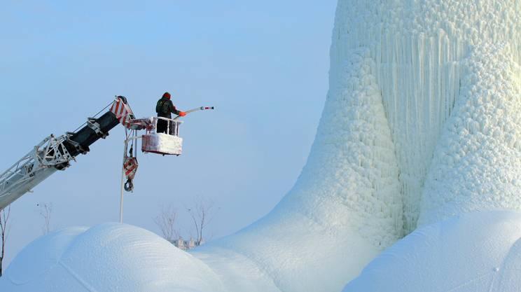 Harbin,34esimo Festival internazionale del ghiaccio