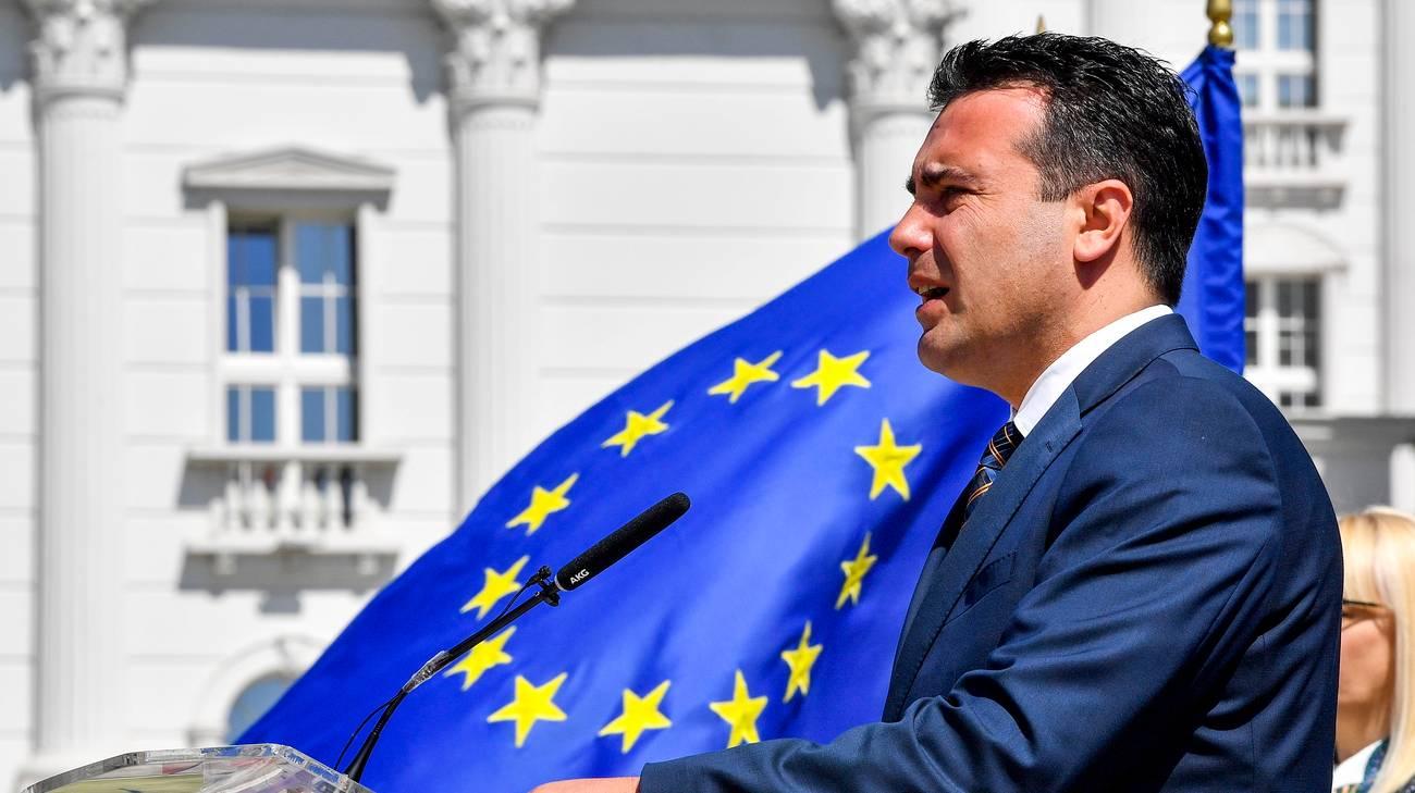 Vento nuovo con Zoran Zaev a Skopje