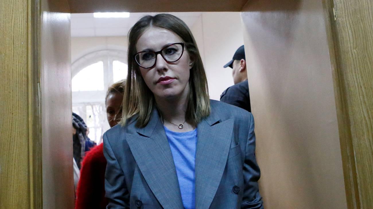 Xenia Sobchak, possibile sfidante di Vladimir Putin