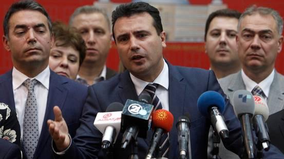 """Macedonia, """"sì"""" al nuovo nome"""