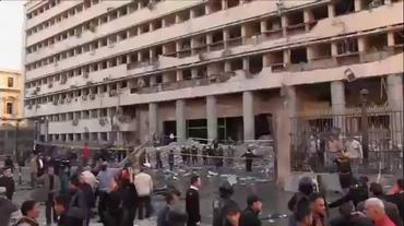 Il luogo del primo attentato - VIDEO - ebu