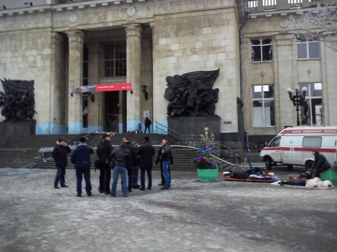 Kamikaze alla stazione di volgograd